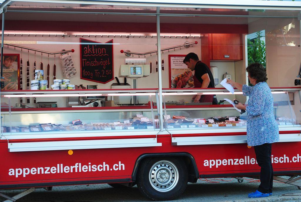k-Verkaufswagen Appenzellerfleisch